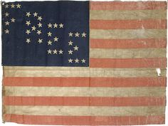 """35-Star """"FREE"""" American Parade Flag, - Cowan's Auctions"""