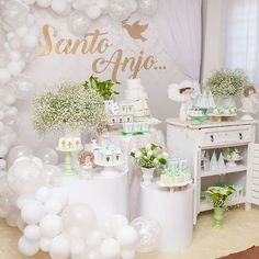 Baby Shower Parties, Baby Boy Shower, Art Festa, Birthday Decorations, Table Decorations, Baby Kit, Communion, Event Design, Holi