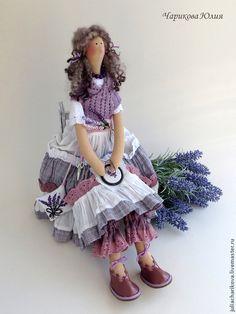 Цветы Прованса 1 - бледно-сиреневый,тильда,тильда в подарок,бохо,бохо стиль