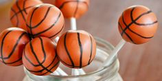 How to make basketball cake pops | Cake Pops Recipes