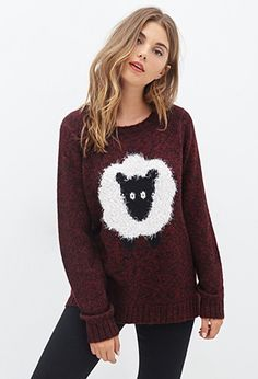 Shaggy Sheep Sweater   Forever 21 - 2000083876