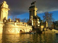 Lago de El Retiro (Madrid)
