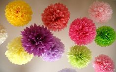 Love these pom poms for any event!