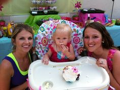 Annalise First Birthday