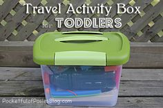 Travel Activity Box for Toddlers