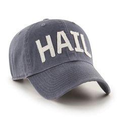 ccec759ab73 Michigan Wolverines 47 Brand Vintage Navy Hail Clean Up Adjustable Hat