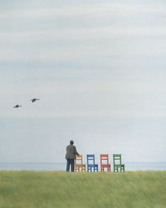 ☆ Four Chairs :¦: By Artist Quint Buchholz ☆