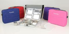 Planetbox   metal lunch box system