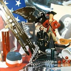 "Currier Collections Online - ""Fourth of July Still Life"" by Audrey L. Flack"