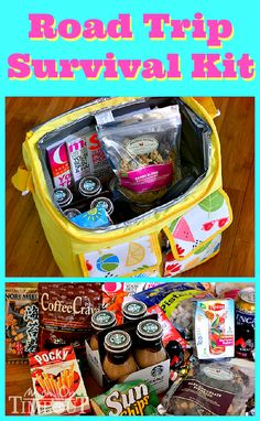 Road Trip Survival Kit Great for those summer vacations! Follow us on Facebook here: http://www.facebook.com/diyncrafts