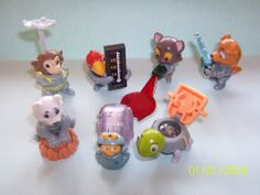 KINDER SURPRISE SET - SPACE MISSION ANIMALS Bulgaria 2012 - FIGURES COLLECTIBLES