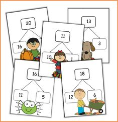 Classroom Labels, Math Classroom, Back 2 School, Pre School, Math Numbers, Play To Learn, Kids Education, Math Centers, First Grade