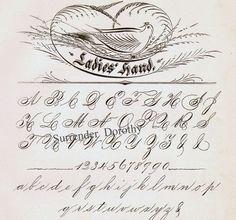 Palmer method of handwriting