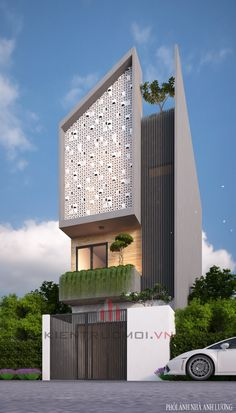 Mẫu thiết kế nhà với phong cách độc đáo và cá tính mang cho chủ nhà 1 không gian sống vô cùng sinh động nhưng không kém phần hiện đại.
