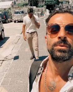 Badass Aesthetic, Daddy Aesthetic, Really Hot Guys, Cute Guys, Handsome Italian Men, Italian Guys, Bald Men With Beards, San Antonio Riverwalk, Scruffy Men