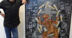 Exposição gratuita com 27 artistas de Joinville abre nesta quarta (24)