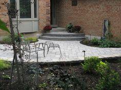 front patio | Front entrance patio design - mediterranean - patio ...