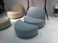 Thanks to my daughter-in-law. At the Milan design show.