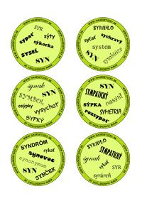Dobble - vybrané slová po S Dyslexia, No Time For Me, Language, Classroom, Education, Adhd, Montessori, Accessories, Class Room