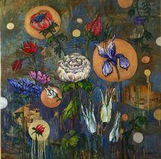 Kukkien valtakunta. My Arts, Artist, Painting, Painting Art, Paintings, Amen, Artists