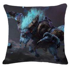 Dota 2 Spirit Breaker Pillow Case 2 Spirited, Dota 2, Pillow Cases, Pillows, Cushions, Pillow Forms, Cushion, Scatter Cushions