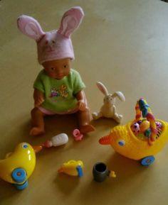 :-) MINI BABY BORN - OSTERN - PUPPE, BEKLEIDUNG UND ZUBEHÖR ZAPF CREATION (-: