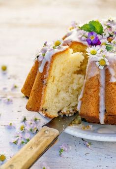 Sweet And Salty, Cornbread, Vanilla Cake, Cooking Recipes, Ethnic Recipes, Desserts, Food, Cakes, Kuchen