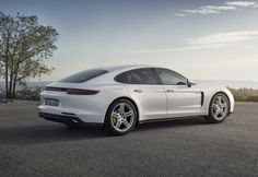 The Paris Motor Show will see Porsche unveil the fourth model in the  four-door Panamera line: the 4 E-Hybrid with all-wheel drive and an  electric range of 50 kilometres.