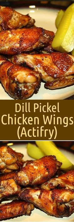 Dill Pickle Chicken Wings (Actifry) Rezept - Dill Pickle Chicken Wings (Actifry) Rezept Dill Pickle Chicken Wings (Actifry) Rezept Dill Pickle C - Actifry Recipes, Cooking Recipes, Healthy Recipes, Cooking Tips, Chicken Wing Recipes, Appetizer Recipes, Appetizers, Dinner Recipes, Turkey Recipes