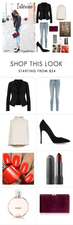 """""""Interview"""" by michellecoetzee on Polyvore featuring Donna Karan, Alexander Wang, TIBI, Gianvito Rossi, Monsoon and Kate Spade"""