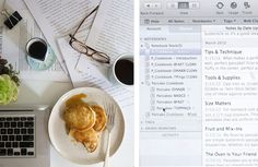 How to Write a Cookbook with Evernote
