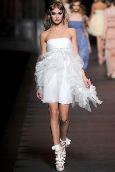 Christian Dior Fall 2011 Ready-to-Wear Fashion Show - Keke Lindgard