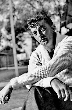"mattybing1025:  Happy Birthday Robert Mitchum!! | August 6, 1917 - July 1, 1997    ""You know what the average Robert Mitchum fan is? He's full of warts and dandruff and he's probably got a hernia too, but he sees me up there on the screen and he thinks if that bum can make it, I can be president."""
