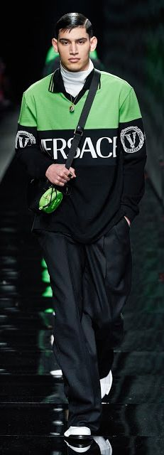 Versace Fall 2020 Ready-To-Wear July 6th, The 5th Of November, March 1st, June 18th, Versace, Ready To Wear, Fall, How To Wear, Men