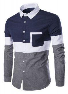 2550caea7 $9.51 Two Tone Pocket Design Corduroy Shirt | Fashion Sense! in 2019 ...