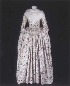 Robe à l'anglaise (1780 – tegen)