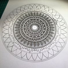 Almost there....should be done tomorrow #mandala#mandalaart#mandaladesign#zenart#zendala#zendoodle#zentangle#tangle#ink#instaart#instadraw#instaartist#instadoodle#illustration#instadoodles#design#doodle#drawing#doodlingk#doodleart#sketch#graphicart#detail#mandalas#dots#artwork#patterns#penart#flowerart#mandaladrawing#mandalas