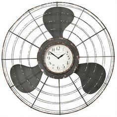 Earhart Wall Clock