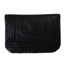 Braided mini bag - Black by KOVA