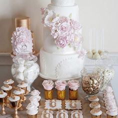 in heaven with this delightful little bit of sugary delight... the soft pastels teamed with the antique gold..... LUSH! @theweddingscoop #Bali #balibride #baliwedding #baliweddingplanner #desserttable #cake #weddingcake #foodporn #sweet #loveissweet #cupcakes #antiquegold #pastelpink #fondant #buttercream #sugarygoodness eye candy #weddinginspo #thebaliweddingguide #TBWG #BWG #theweddingscoop #cookies #sugaredalmonds #marshmallows #chocolates #sugarart