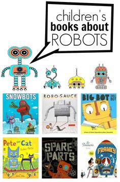 Check out these robot books for kids. Your kids won't want you to stop reading these great robot books.