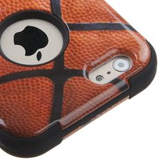 MYBAT TUFF Hybrid iPhone 6 Case - Basketball
