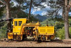 RailPictures.Net Photo: Plasser Unima 3 Ferrocarril de Soller Plasser-Theurer at Bunyola, Mallorque, Balearic Islands, Spain by Jaroslav Dvorak: