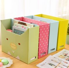 Find More Storage Boxes & Bins Information about DIY Desktop Storage Box Lid Dust Thicker Paper File Storage Box Finishing Box Office Makeup Organizer 12 Style,High Quality organizer notebook,China makeup organizer drawers Suppliers, Cheap organ Cardboard Storage, Diy Storage Boxes, Paper Storage, Office Storage, Cardboard Crafts, Wall Storage, Cardboard Organizer, Cheap Storage, Storage Drawers