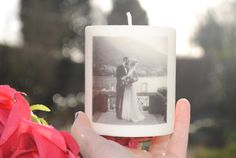 Personalised Photo Candle Bridesmaid Gift a by WelshWishCandles
