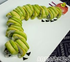 Sushi Very Hungry Caterpillar - heaven