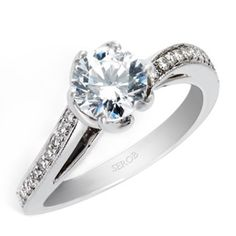 HadarDiamonds.com | Diamond Engagement Ring - KS9022-R