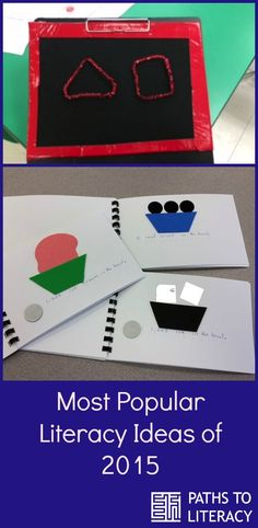 Top literacy ideas for 2015 include braille literacy, strategies for CVI and activities for students who are deafblind.