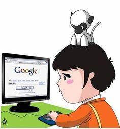 Marco busca a su madre en Google