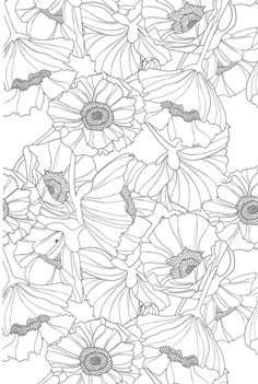 Flower Doodle Coloring pages colouring adult detailed advanced printable Kleuren voor volwassenen coloriage pour adulte anti-stress